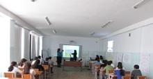 Հերթական հեռավար դասը Լոռու մարզի դպրոցների մասնակցությամբ
