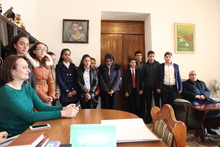 Լոռու մարզպետարանի հյուրերն էին Կաթնաջրի միջնակարգ դպրոցի աշակերտները