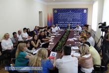 Կայացավ հաշմանդամություն ունեցող անձանց հարցերով զբաղվող Լոռու մարզային հանձնաժողովի հերթական նիստը