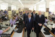 ՀՀ  նախագահ Սերժ Սարգսյանը աշխատանքային այցով ապրիլի 27-ին  Լոռու մարզում էր: