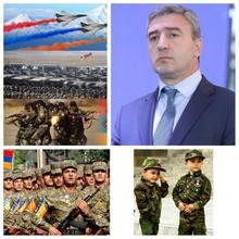 Լոռումարզպետ Արթուր Նալբանդյանի շնորհավորական ուղերձը Հայոց բանակի օրվա կապակցությամբ