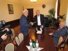 Բոգդան Հովհաննիսյանը պարգևատրվեց մարզպետի շնորհակալագրով