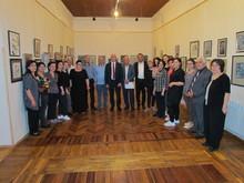 Մարզպետը ներկա գտնվեց Վազգեն Բադալյանի 65-ամյակին նվիրված անհատական ցուցահանդեսի բացմանը