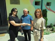 «Էյ Թի Փի» բարեգործական հիմնադրամի նախաձեռնությամբ Մարգահովիտ համայնքում հիմնվել է ջերմատուն-տնկարան