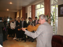 Լոռու մարզպետը եւ Գուգարաց թեմի առաջնորդը շնորհավորեցին տարեցներին