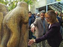 Արարատ Նալբանդյան-անհատական ցուցահանդեսի բացմանը ներկա էին նաև մարզպետարանի պաշտոնյաները