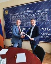 Փոխըմբռնման հուշագիր Լոռու մարզպետարանի և «Առողջ Հայաստան» սոցիալական զարգացման հիմնադրամի միջև