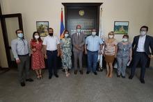 Մարզպետի տեղակալն ընդունեց Հայաստանում Չեխիայի արտակարգ և լիազոր դեսպանի տեղակալին