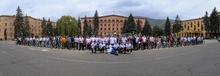 ՀՀ Անկախության 29.  Լոռու մարզպետարանի նախաձեռնությամբ  կազմակերպվել էր մոտոհեծանվարշավ