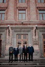 Մարզպետ Ադրեյ Ղուկասյանը հյուրընկալել էր ՀՀ-ում Չեխիայի, Լեհաստանի և Սլովակիայի դեսպաններին