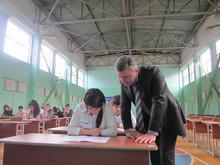 Մարզպետը ծանոթացավ ավարտական քննությունների ընթացքին