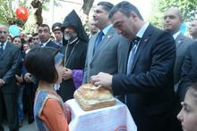Վարչապետը մասնակցեց Վանաձորի թիվ 22 հիմնական դպրոցի նորակառույց մասնաշենքի բացմանը