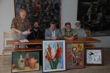Գեղանկարիչներն աջակցում են Օձունի եկեղեցու վերականգնմանը