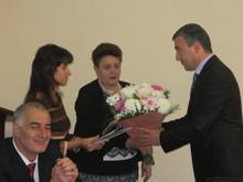 Մարզպետ Արթուր Նալբանդյանը շնորհավորեց մարզի վաստակաշատ ուսուցիչներին