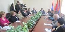 Հաշմանդամություն ունեցող անձանց հարցերով զբաղվող մարզային հանձնաժողովի նիստում