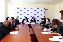 «Կանանց սոցիալ-տնտեսական հզորացում Հայաստանում» ծրագրի շրջանակներում` տեղեկատվական միջոցառումներ ԶԼՄ ներկայացուցիչների համար