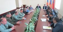 Տեղի ունեցավ Լոռու մարզային զորակոչային հանձնաժողովի նիստ