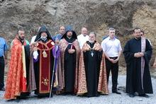 Սուրբ Աստվածածին եկեղեցու հիմնարկեքը՝  Ստեփանավանում